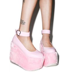 Sugarbaby Faux Real Candy Mary Jane Platforms