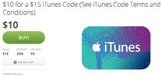 Groupon: $15 iTunes Code for $10!