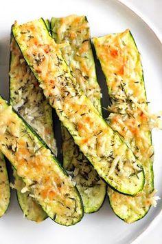 Crusty Parmesan-herb Zucchini Bites With Zucchini, Fresh Parmesan Cheese, Fresh Rosemary, Olive Oil, Pepper, Salt