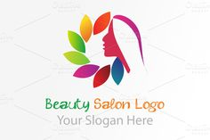 I just released Beauty salon Logo on Creative Market.