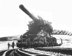 800mm Schwerer Gustav Railway Gun