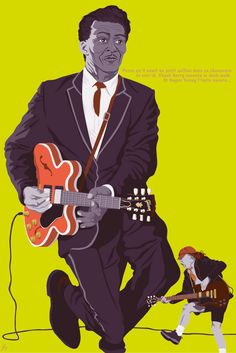 © Chuck Berry & Angus Young