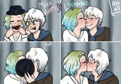 MikaHappy e Lysandre                                                                                                                                                      Mais