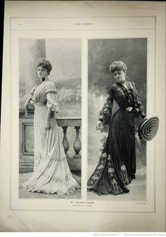 Les Modes : revue mensuelle illustrée des Arts décoratifs appliqués à la femme | 1903-04 | Gallica