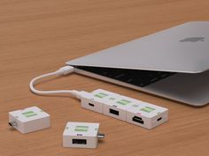 Cusby - Modular #adapter for USB-C http://en.belzino.com/b82d2 #TheCusby #gadgets #tech #apple