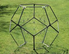 one day geodesic, tensegrity structures will be useful at a human scale... not yet though...