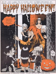 Halloween This Year, Creepy Halloween, Happy Halloween, Halloween Ideas, Ec Comics, Horror Comics, Jack Davis, Fall Weather, Time Of The Year