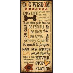 dog wisdom - Google Search