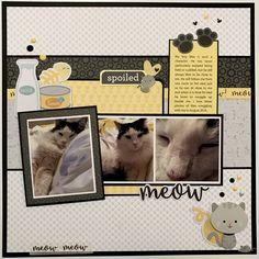 Meow - Doodlebug Design - Kitten Smitten Collection