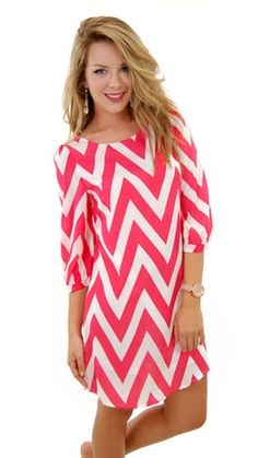 Coral Chevron Dress   Coral Chevron Dress   Fashion & Style