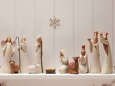 I want only a sophisticated nativity set, something like this is really smart!