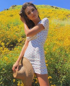 "3,788 Likes, 20 Comments - Reformation (@reformation) on Instagram: ""@emrata in the super bloom wearing the Raleigh Dress. #refbabe """