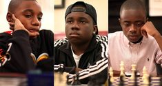 Three New York-area teenagers, Justus Williams, Joshua Colas and James Black Jr., are among the youngest players to ever be named chess masters.