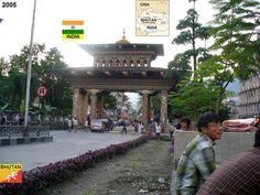 Confini amministrativi - Riigipiirid - Political borders - 国境 - 边界: 2005 BT-IN Bhutan-India Bhutan-India