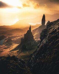 "60.1k Likes, 865 Comments - Konsta Punkka (@kpunkka) on Instagram: ""~ An extremely rare sight in Scotland... sunshine"""
