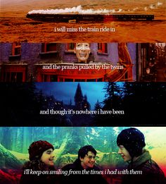 I will miss the excitement of new HP books and movies.