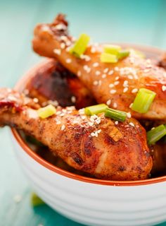 Asian Chicken Drumsticks in the Slow Cooker are great as an appetizer or for a busy weeknight dinner.