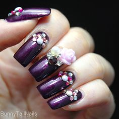 BunnyTailNails: Sanna Tara Nail Art - Saffron 35