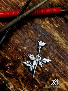 Depeche Mode Violator Rose sterling silver by LittleTreasuresByMir