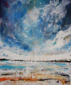 """Anthony Garratt; Acrylic, Painting """"Red Buoys, Tresco"""""""