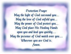 Protection Prayer