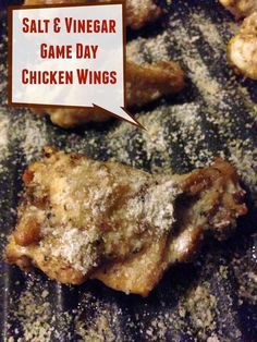 Outnumbered 3 to 1: Salt and Vinegar Chicken Game Day Wings