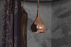 Hurlingham the Bath Company - Bulbous Copper Shower Copper Shower Head, Ideal Home, Shower Heads, Sconces, Wall Lights, Lighting, Showers, Bathrooms, Home Decor