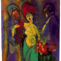 Emil Nolde - In the Dressing Room