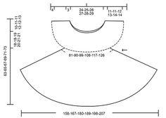 Tunic with fan pattern, flounce and A-shape, crochet top down in DROPS Safran. Size S-XXXL. Free pattern by DROPS Design.