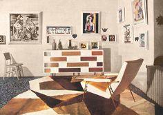 111: Gio Ponti / Distex lounge chair, model 807 < Italian Masterworks, 13 December 2012 < Auctions | Wright