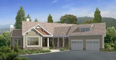 Mountain Plan with Grand Room - 29811RL   Architectural Designs - House Plans
