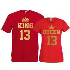 Tricouri pentru cuplu King - Queen numere Queen, Tops, Fashion, Moda, Fashion Styles, Fashion Illustrations