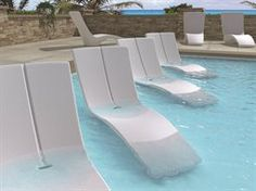 Tropitone Curve Collection  Tropitone Curve Recycled Plastic Chaise Lounge Set