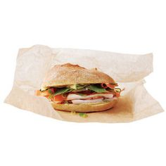 Asian Turkey Sandwich With Hoisin Mayonnaise | MyRecipes.com
