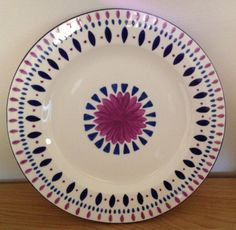 Rosemary Designs Hand Painted Plates