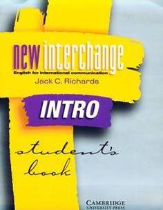 New Interchange Intro Student Book + Audio (2nd Edition)