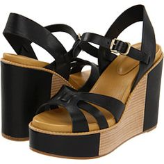 See by Chloe - SB18082 00054 999 (Black) - Footwear -  See by Chloe  SB18082 00054 999 (Black)  Footwear 6pm.com is proud to offer the See by Chloe  SB18082 00054 999 (Black)  Footwear: This See by Chloe is by far more than the usual wedge. Place a retro spin on any ensemble with its old school feel. ; Leather upper. ;...
