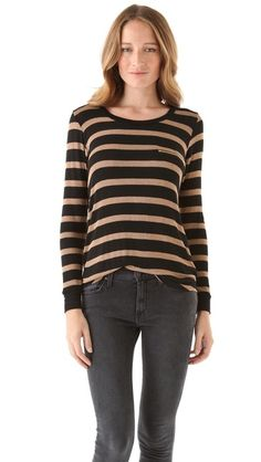 LNA Spencer Striped Sweater