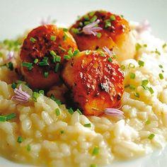 Oggi prepariamo il risotto al limone con capesante e champagne. Scoprite subito la ricetta su www.frescopesce.it/risotto-al-limone-con-capesante-e-champa…