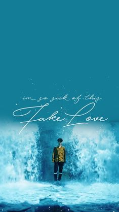 16 Ideas for wall paper bts lyrics fake love Bts Boys, Bts Bangtan Boy, Bts Jimin, Bts Wallpaper Desktop, Love Wallpaper, Laptop Wallpaper, Phone Wallpapers, K Pop, Banda Kpop