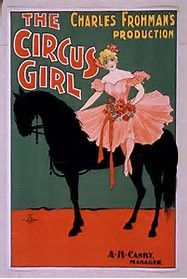 The Circus Girl - Woman on Horse Theatrical Poster - Vintage Advertisement Giclee Gallery Print, Wall Decor Travel Poster), Multi Circus Poster, Retro Poster, Vintage Ads, Vintage Posters, Art Posters, Vintage Gifts, Victorian Illustration, Antique Maps, Fine Art Prints