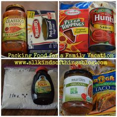 Packing Food for a Family Vacation~ *Budget-Friendly & Convenient Meals http://www.allkindsofthingsblog.com/2014/09/packing-food-for-family-vacation.html