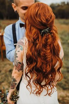 Loose Hairstyles, Bride Hairstyles, Hairstyle Ideas, Ball Hairstyles, Vintage Bridal Makeup, Wedding Makeup, Unique Wedding Hairstyles, Bridal Braids, Hair Flow