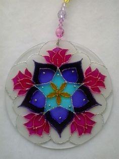 Mandala Bons Fluídos www.capembas.com.br/catalogo/