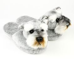Schnauzer Slippers - For all the friends of Schnauzers!