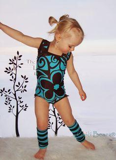 Gymnastics leotard