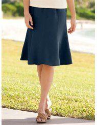 Silk/Linen Flip Skirt