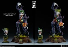 Sideshow Dc Comics Gotham City Nightmare Joker Exclusive Edition