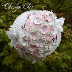 Hey, I found this really awesome Etsy listing at https://www.etsy.com/listing/167994006/pink-butterfly-flower-paper-lantern