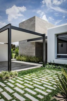Best Ideas For Modern House Design & Architecture : – Picture : – Description Modern Home Design by the Urbanist Lab Contemporary Architecture, Interior Architecture, Minimalist Architecture, Chinese Architecture, Contemporary Garden, Futuristic Architecture, Design Exterior, Modern Exterior, Facade House